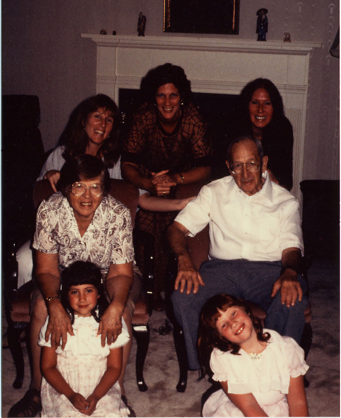 Goldsmith family members, circa 1984