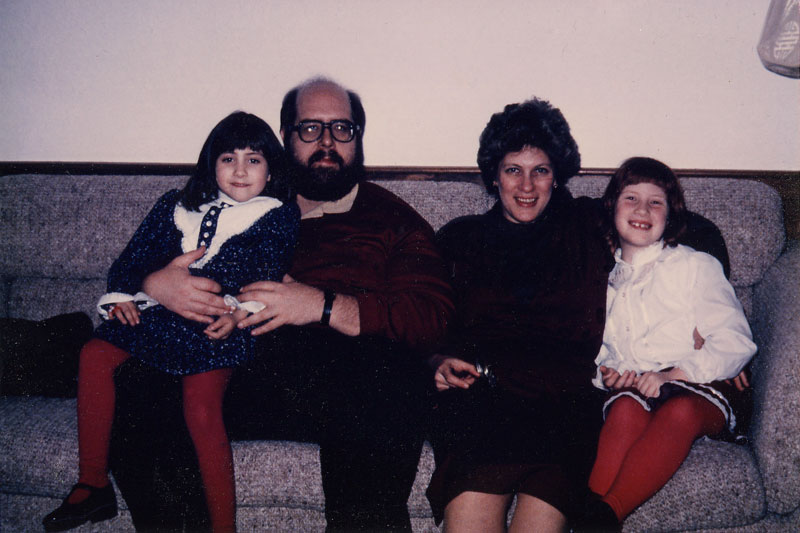 Goldsmith family in 1985