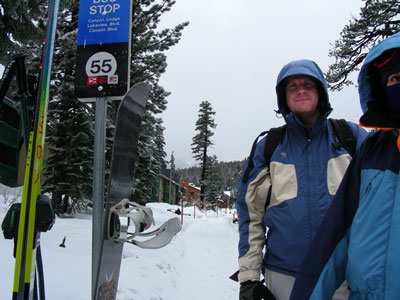 Duncan and Kendra at Mammoth Mountain