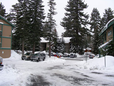 Mammoth Mountain ski trip, December 2005