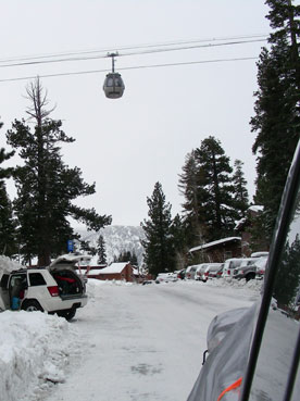 Mammoth Mountain gondolas