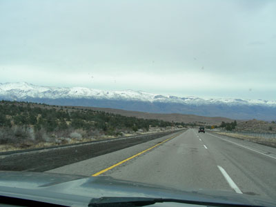 the Sierra Nevadas, December 2005