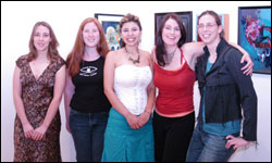 'The Girl Show' at Gallery Nucleus, September 2005